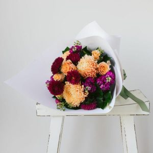 Moody Toned Florists Choice Bouquet