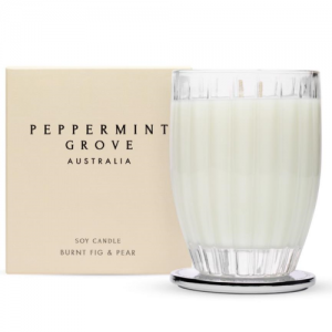 Peppermint Grove - Candle 350g - Burnt Fig & Pear